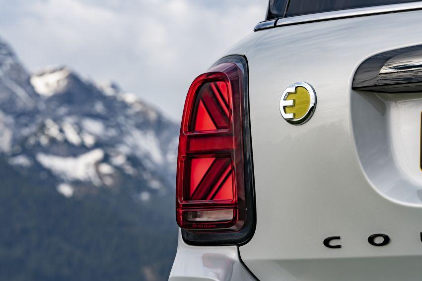 2020 F60 MINI Countryman facelift – cleaner engines, more standard kit, new displays, black exterior trim Image #1122176