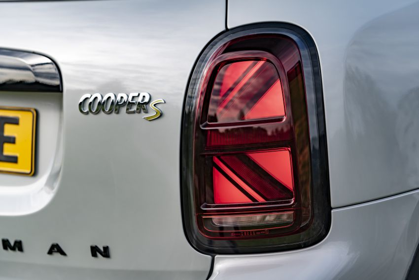2020 F60 MINI Countryman facelift – cleaner engines, more standard kit, new displays, black exterior trim Image #1122178