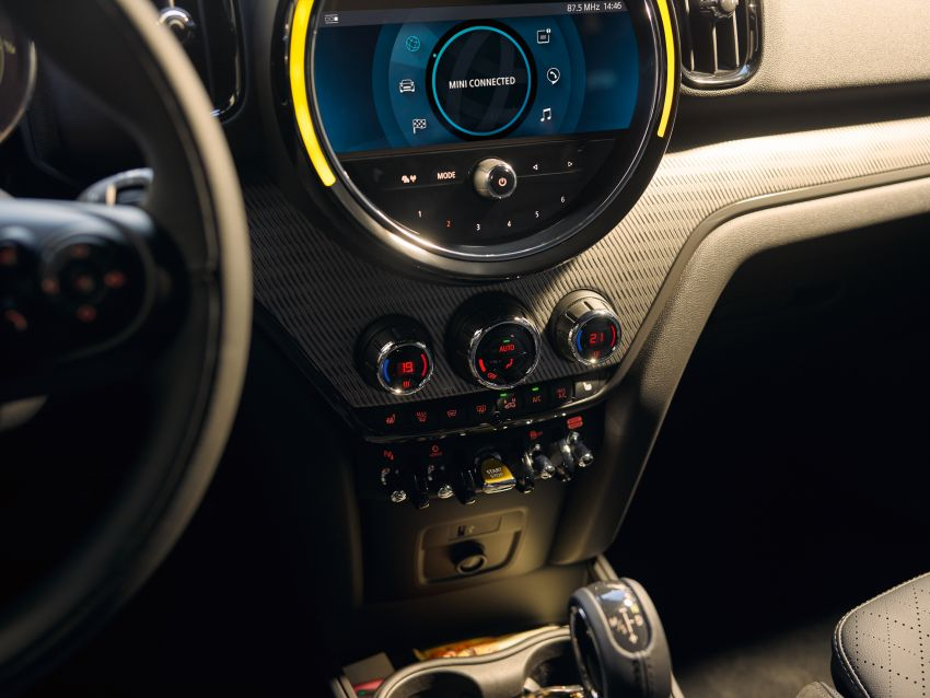 2020 F60 MINI Countryman facelift – cleaner engines, more standard kit, new displays, black exterior trim Image #1122204