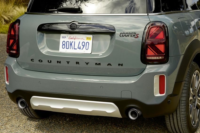 2020 F60 MINI Countryman facelift – cleaner engines, more standard kit, new displays, black exterior trim Image #1122218