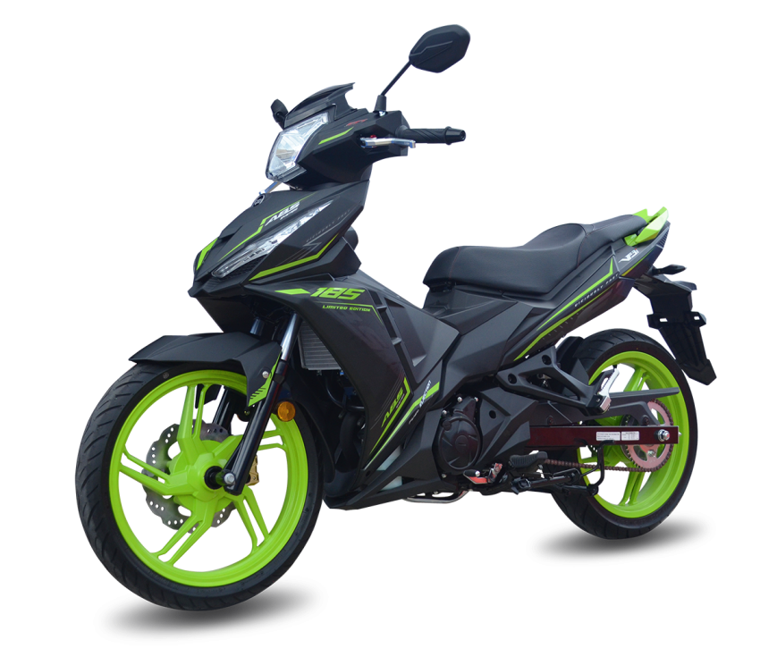 2020 SYM VF3i 185 LE launched in Malaysia – RM9,338, now with 19.7 hp and 17.4 Nm torque, ABS Image #1120519