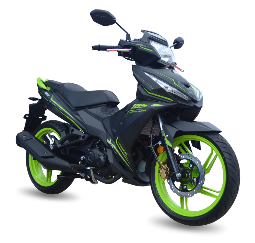 2020 SYM VF3i 185 LE launched in Malaysia – RM9,338, now with 19.7 hp and 17.4 Nm torque, ABS Image #1120520