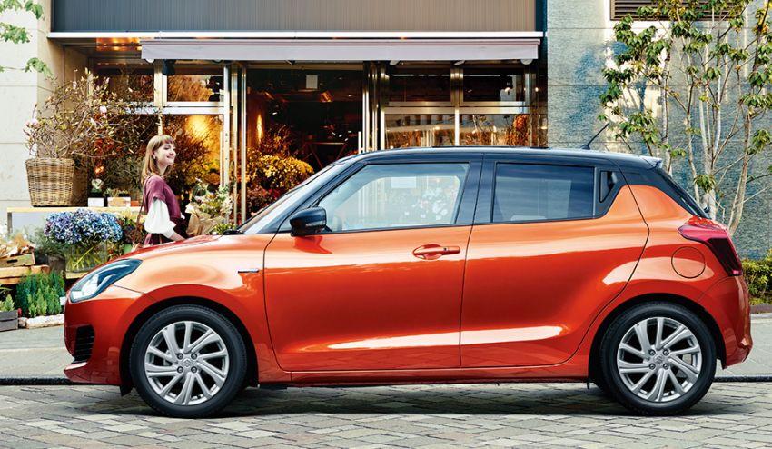 2020 Suzuki Swift facelift debuts, gets minor upgrades Image #1120543