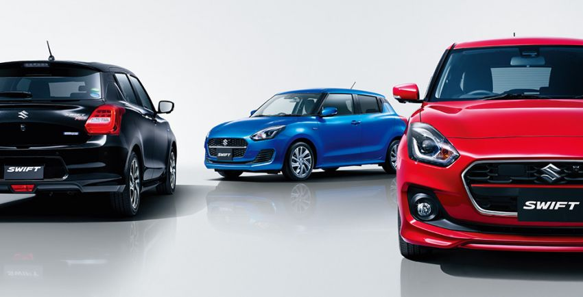 2020 Suzuki Swift facelift debuts, gets minor upgrades Image #1120544