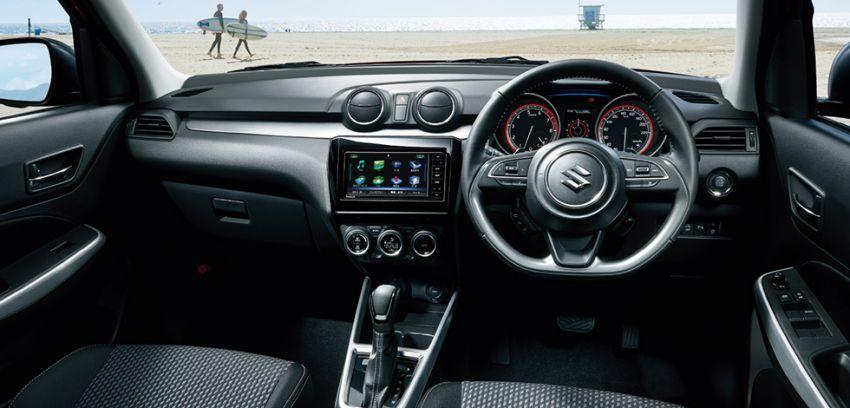 2020 Suzuki Swift facelift debuts, gets minor upgrades Image #1120545