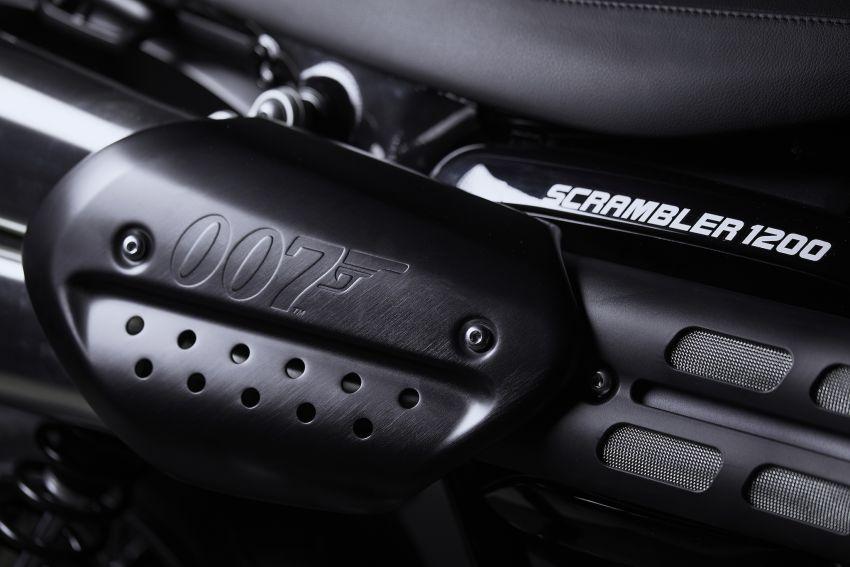 2020 Triumph Scrambler 1200 Bond Edition released Image #1121341