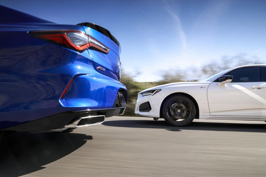 2021 Acura TLX revealed – bespoke platform, front double wishbones, turbo engines, return of Type S Image #1123492