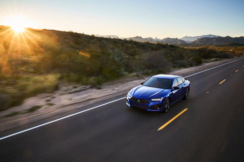 2021 Acura TLX revealed – bespoke platform, front double wishbones, turbo engines, return of Type S Image #1123493