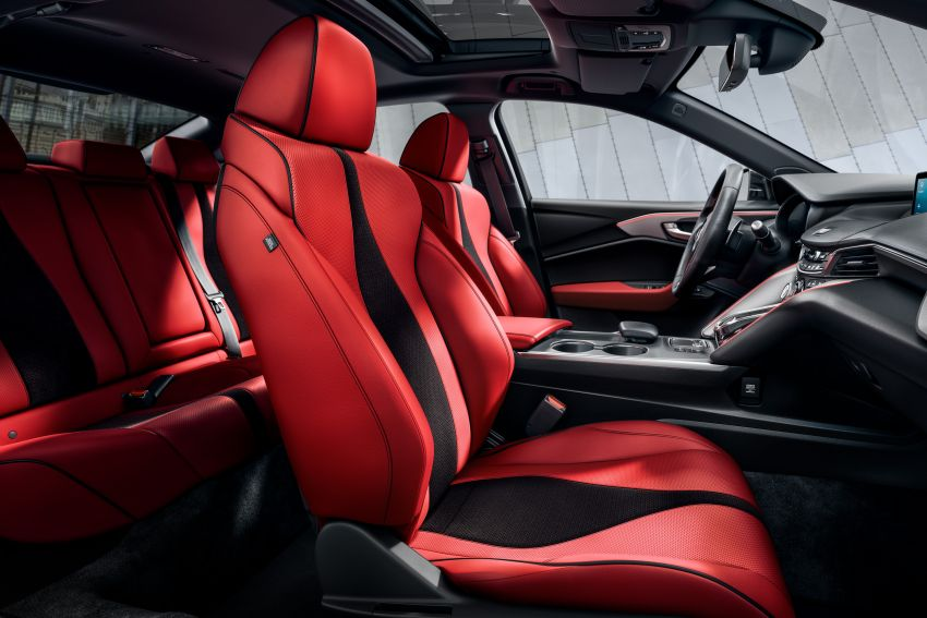 Acura TLX 2021 – banyak naik taraf bahagian prestasi Image #1123731