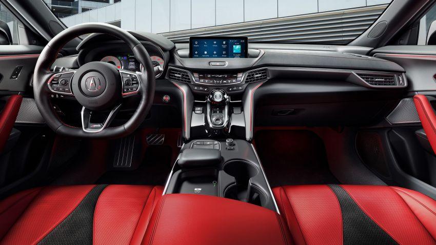 Acura TLX 2021 – banyak naik taraf bahagian prestasi Image #1123730