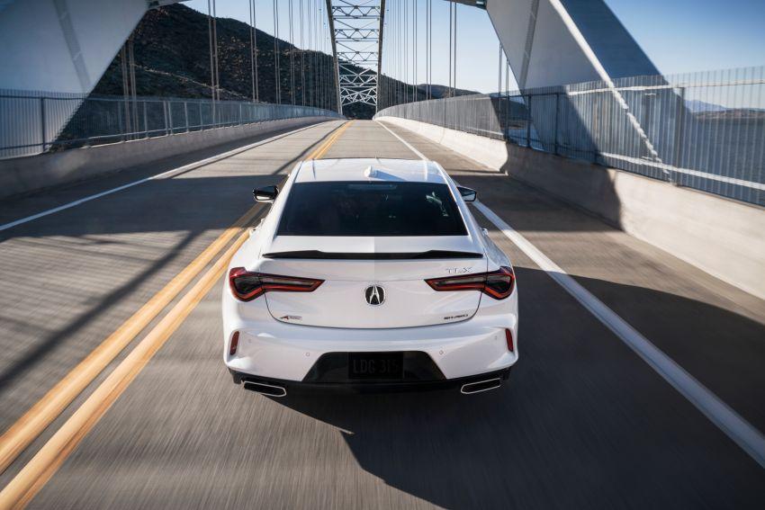 Acura TLX 2021 – banyak naik taraf bahagian prestasi Image #1123729