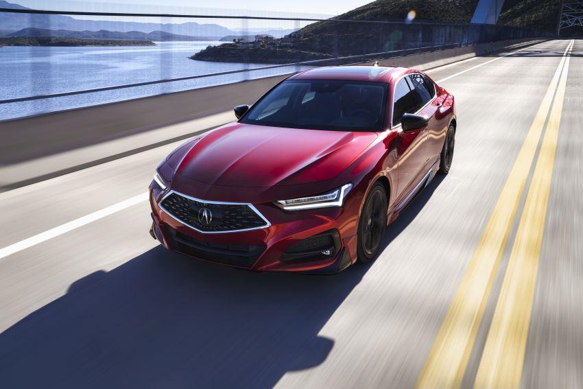 Acura TLX 2021 – banyak naik taraf bahagian prestasi Image #1123728