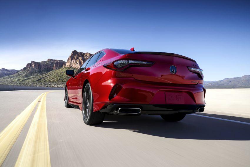Acura TLX 2021 – banyak naik taraf bahagian prestasi Image #1123727