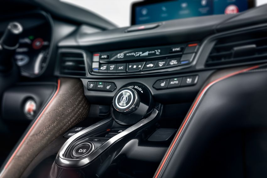 Acura TLX 2021 – banyak naik taraf bahagian prestasi Image #1123724