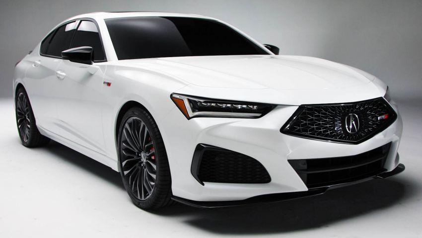 2021 Acura TLX revealed – bespoke platform, front double wishbones, turbo engines, return of Type S Image #1123506
