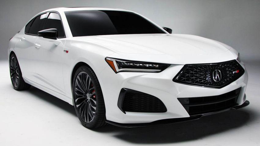 Acura TLX 2021 – banyak naik taraf bahagian prestasi Image #1123720