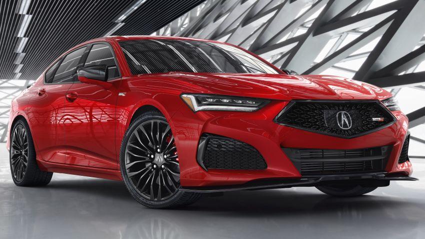 2021 Acura TLX revealed – bespoke platform, front double wishbones, turbo engines, return of Type S Image #1123515