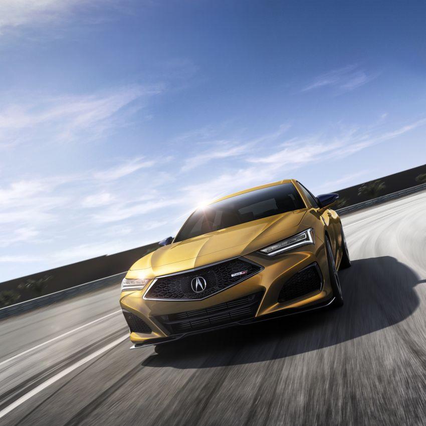 2021 Acura TLX revealed – bespoke platform, front double wishbones, turbo engines, return of Type S Image #1123516