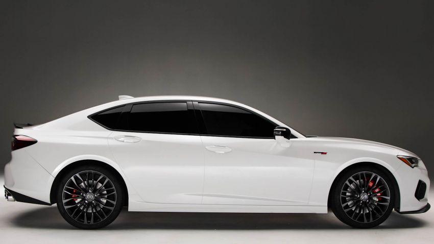 Acura TLX 2021 – banyak naik taraf bahagian prestasi Image #1123719