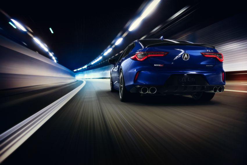 2021 Acura TLX revealed – bespoke platform, front double wishbones, turbo engines, return of Type S Image #1123509