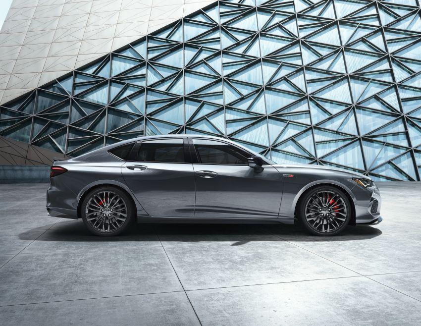 2021 Acura TLX revealed – bespoke platform, front double wishbones, turbo engines, return of Type S Image #1123510