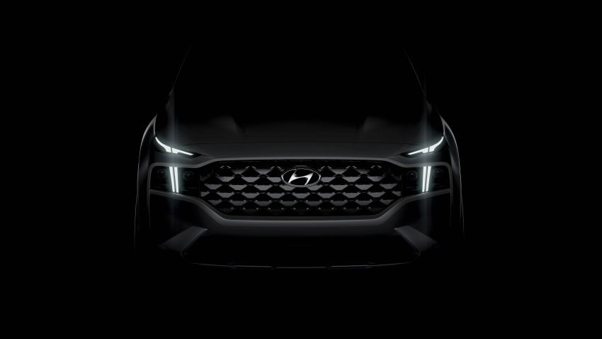 2021 Hyundai Santa Fe teased – not just a facelift, SUV gets a new platform and hybrid, PHEV options Image #1123684