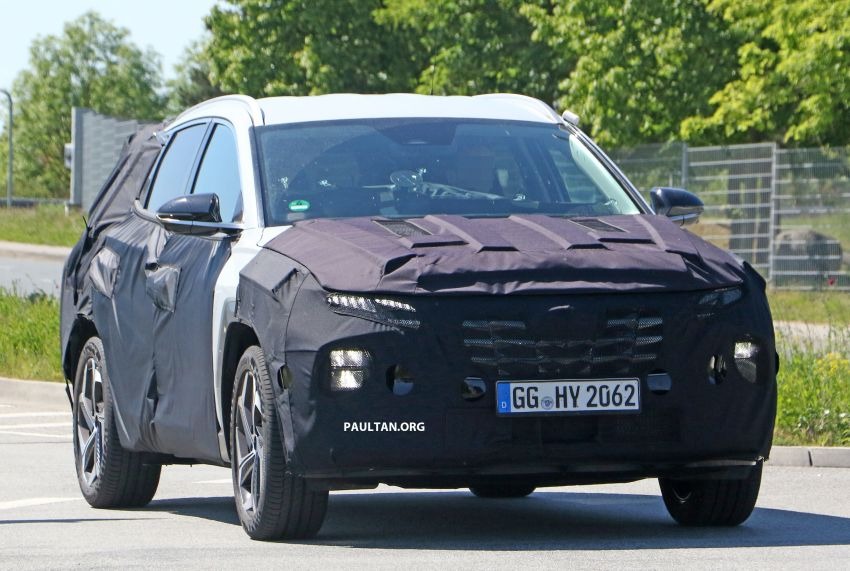 SPIED: 2021 Hyundai Tucson spotted testing in Europe Image #1116773