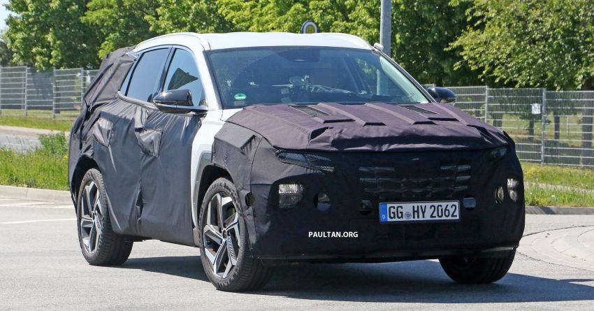 SPIED: 2021 Hyundai Tucson spotted testing in Europe Image #1116774