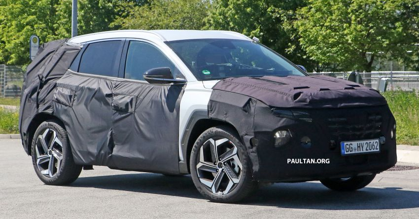 SPIED: 2021 Hyundai Tucson spotted testing in Europe Image #1116775