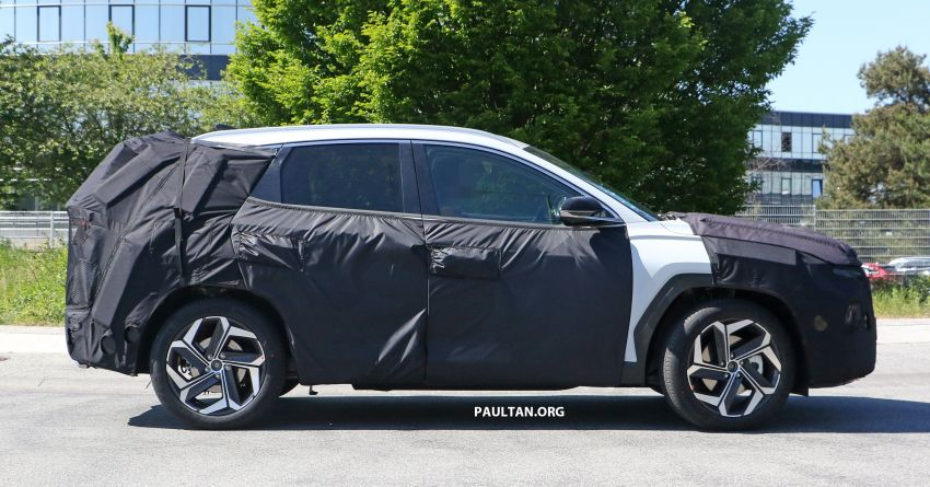 SPIED: 2021 Hyundai Tucson spotted testing in Europe Image #1116776