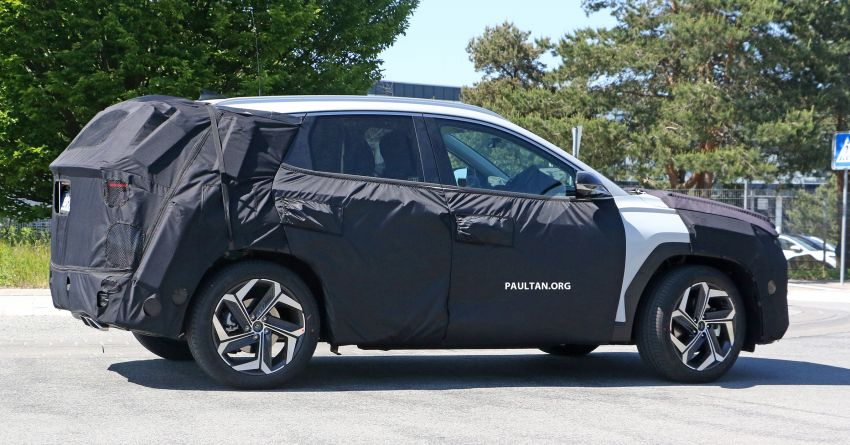 SPIED: 2021 Hyundai Tucson spotted testing in Europe Image #1116777