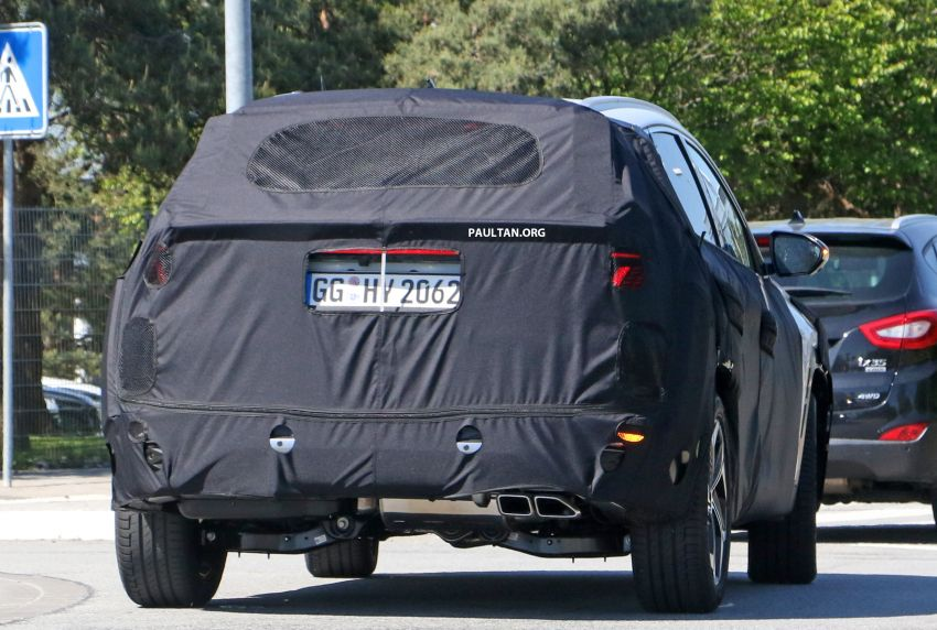 SPIED: 2021 Hyundai Tucson spotted testing in Europe Image #1116778