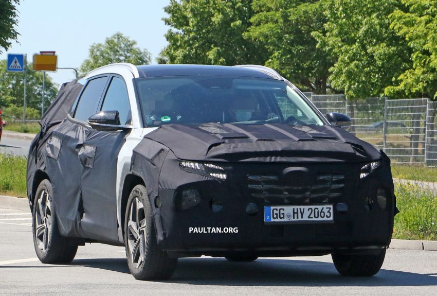SPIED: 2021 Hyundai Tucson spotted testing in Europe Image #1116762