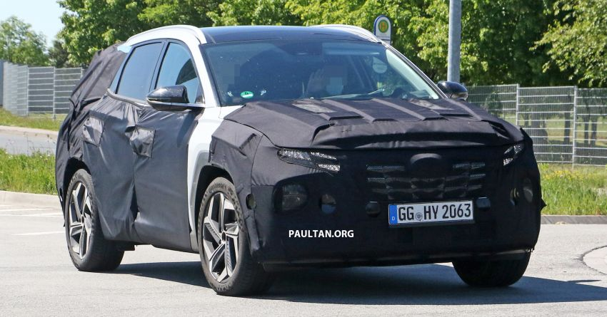 SPIED: 2021 Hyundai Tucson spotted testing in Europe Image #1116763