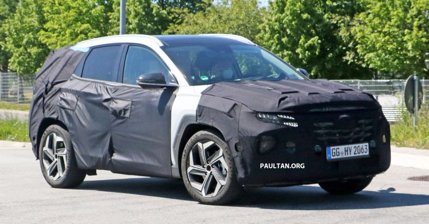 SPIED: 2021 Hyundai Tucson spotted testing in Europe Image #1116764