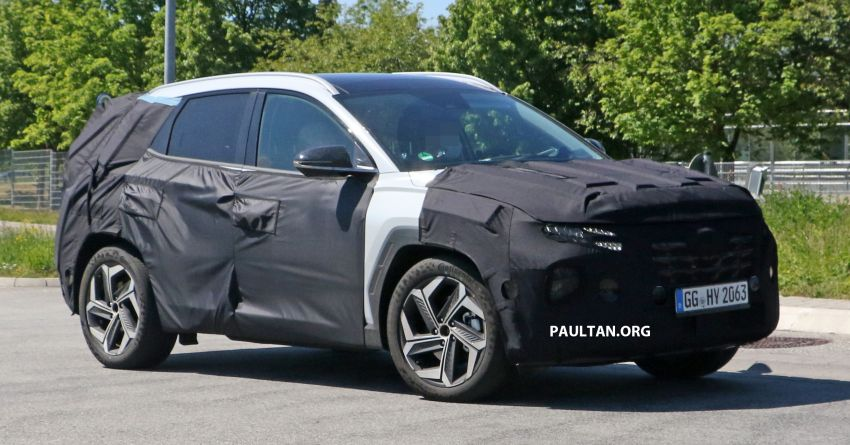 SPIED: 2021 Hyundai Tucson spotted testing in Europe Image #1116765