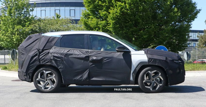 SPIED: 2021 Hyundai Tucson spotted testing in Europe Image #1116766