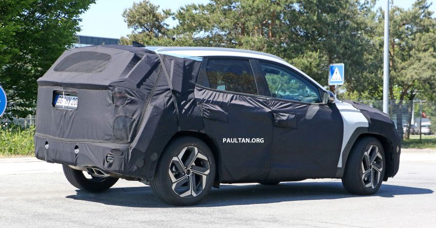 SPIED: 2021 Hyundai Tucson spotted testing in Europe Image #1116768