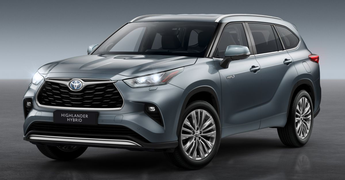 2021 Toyota Highlander revealed for European market