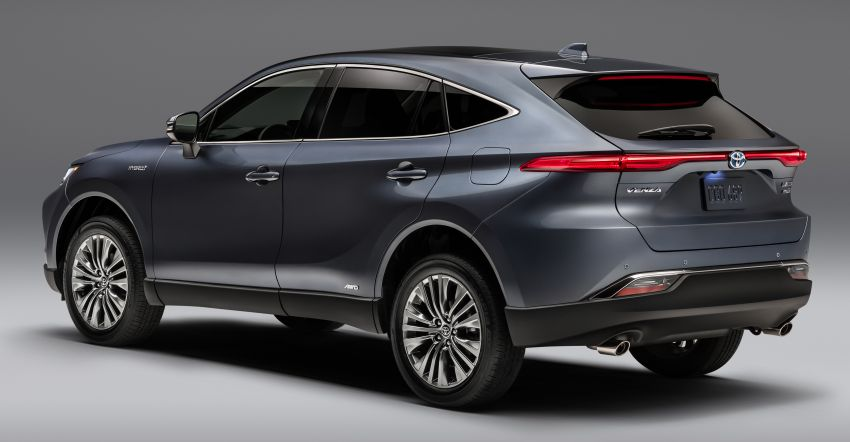 2021 Toyota Venza – new fourth-gen Harrier goes to US Image #1119769