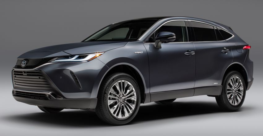 2021 Toyota Venza – new fourth-gen Harrier goes to US Image #1119771