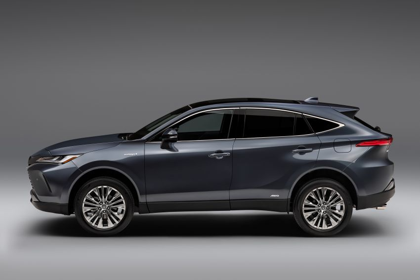 2021 Toyota Venza – new fourth-gen Harrier goes to US Image #1119773