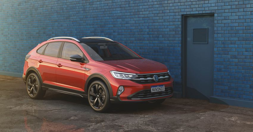 2021 Volkswagen Nivus debuts – compact 'SUV coupe' on sale in Brazil next month, Europe next year Image #1123453