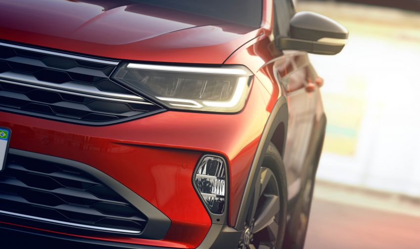 2021 Volkswagen Nivus debuts – compact 'SUV coupe' on sale in Brazil next month, Europe next year Image #1123468