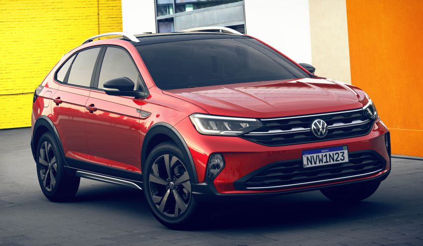 2021 Volkswagen Nivus debuts – compact 'SUV coupe' on sale in Brazil next month, Europe next year Image #1123469