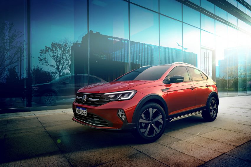 2021 Volkswagen Nivus debuts – compact 'SUV coupe' on sale in Brazil next month, Europe next year Image #1123475