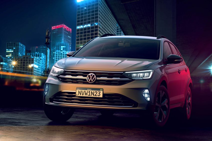 2021 Volkswagen Nivus debuts – compact 'SUV coupe' on sale in Brazil next month, Europe next year Image #1123478