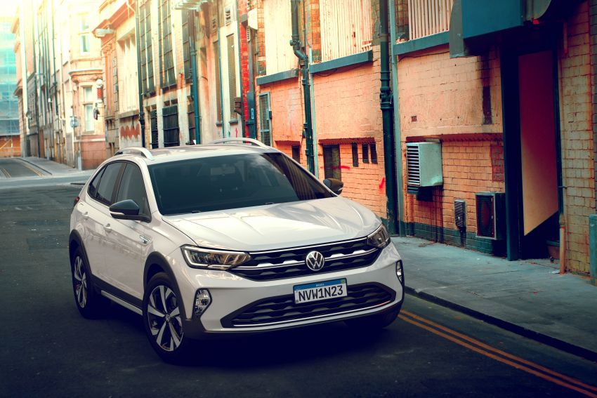 2021 Volkswagen Nivus debuts – compact 'SUV coupe' on sale in Brazil next month, Europe next year Image #1123480