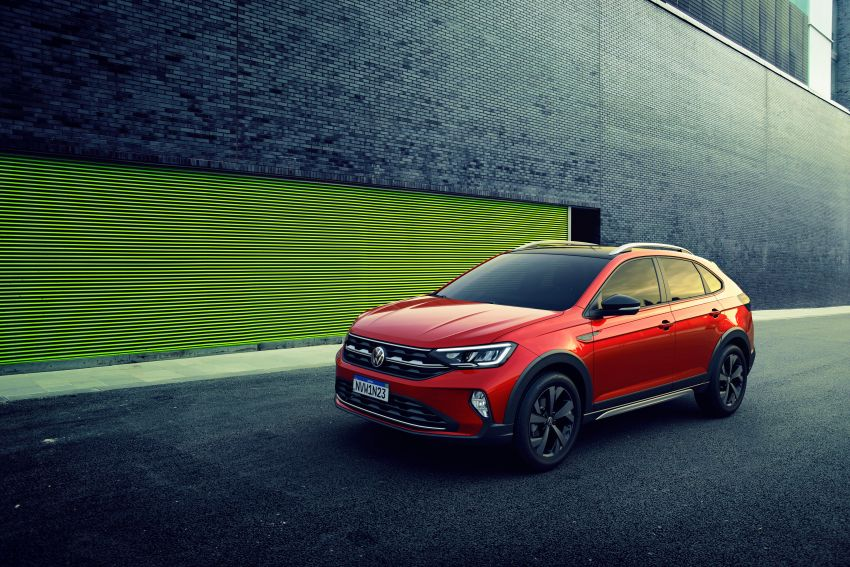 2021 Volkswagen Nivus debuts – compact 'SUV coupe' on sale in Brazil next month, Europe next year Image #1123481