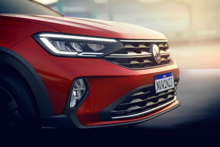 2021 Volkswagen Nivus debuts – compact 'SUV coupe' on sale in Brazil next month, Europe next year Image #1123457